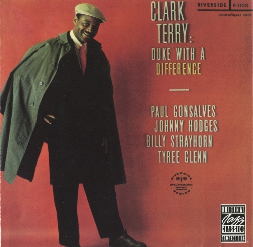 Clark Terry Duke With a Difference Cover Art