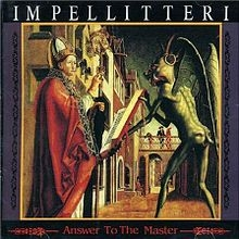 Impellitteri Answer to the Master cover art