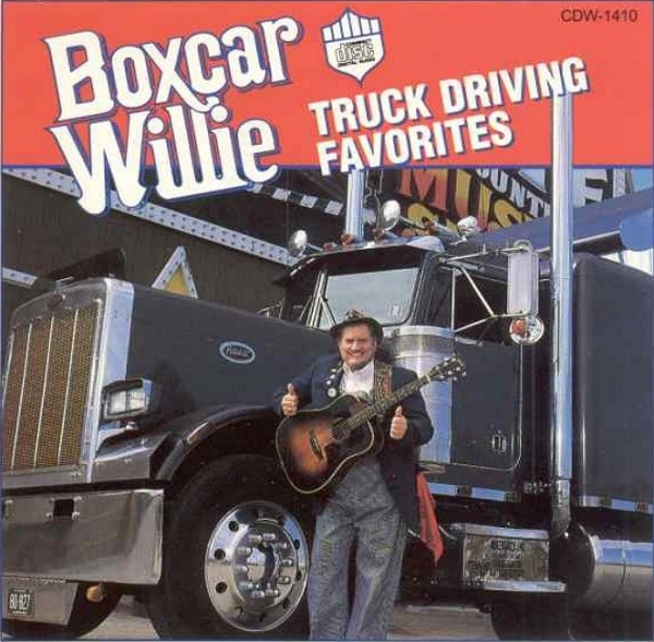 Boxcar Willie Truck Driving Favorites cover art