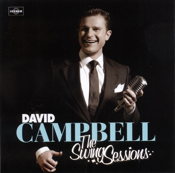 David Campbell The Swing Sessions cover art