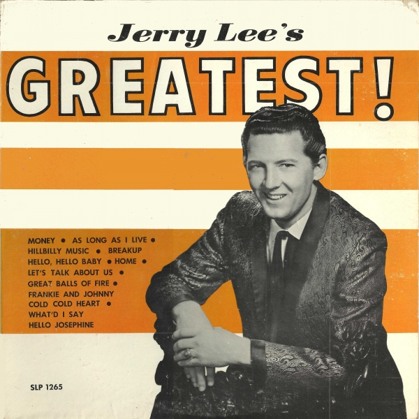 Jerry Lee Lewis Jerry Lee's Greatest! cover art