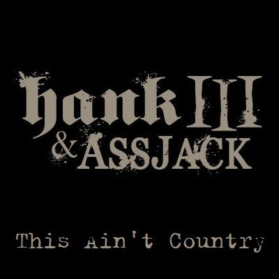 Hank Williams III This Ain't Country cover art