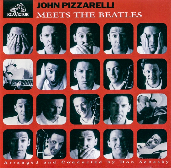 John Pizzarelli Meets the Beatles cover art