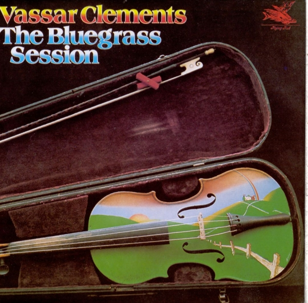 Vassar Clements The Bluegrass Sessions cover art