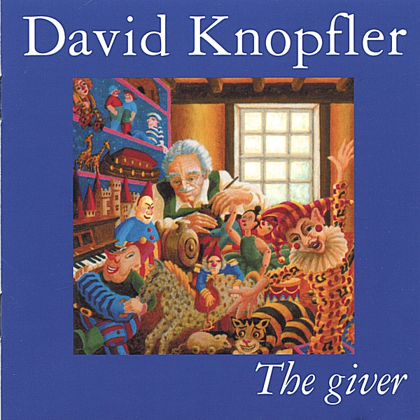 David Knopfler The Giver Cover Art