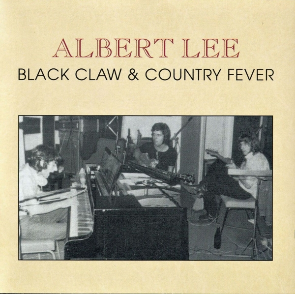 Albert Lee Black Claw & Country Fever Cover Art