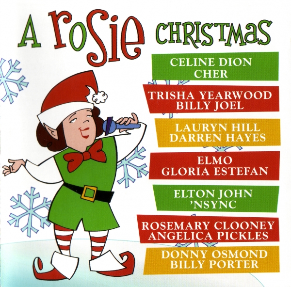 Darren Hayes A Rosie Christmas cover art