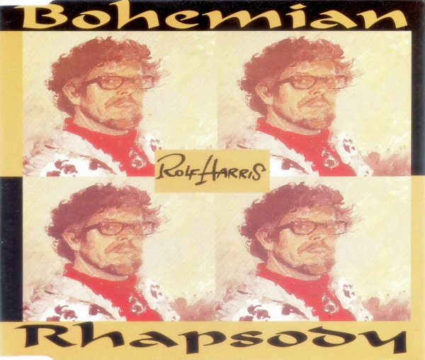 Rolf Harris Bohemian Rhapsody Cover Art