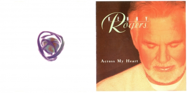Kenny Rogers Across My Heart cover art