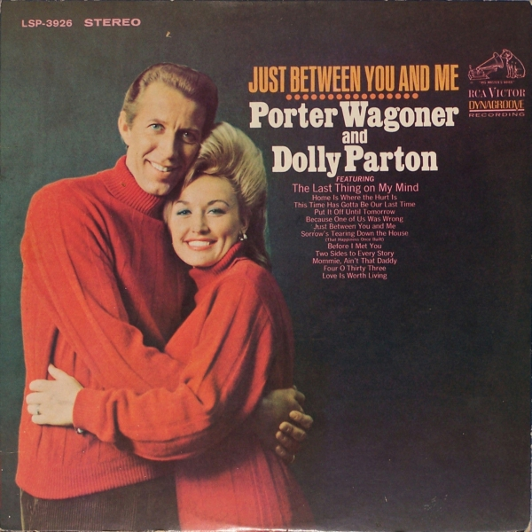 Dolly Parton Just Between You and Me cover art