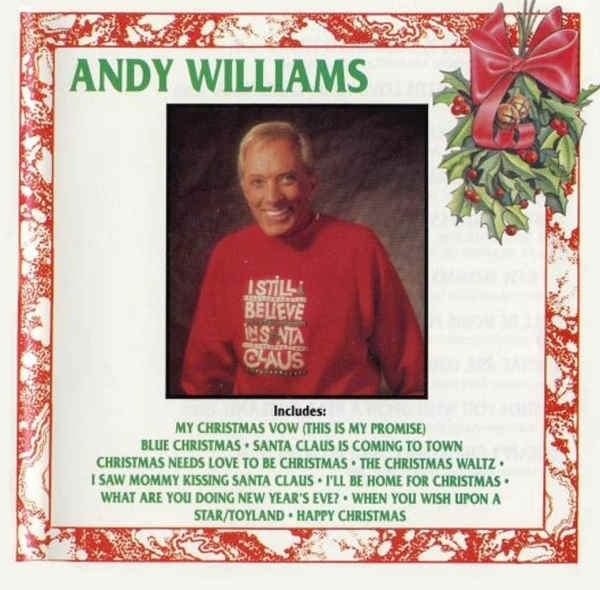Andy Williams I Still Believe in Santa Claus Cover Art