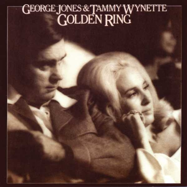 George Jones & Tammy Wynette Golden Ring Cover Art