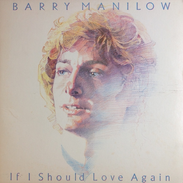 Barry Manilow If I Should Love Again cover art