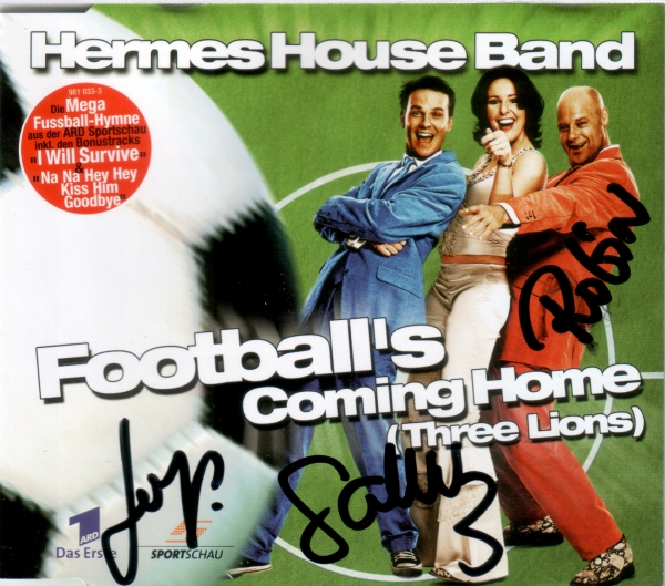 Hermes House Band Football's Coming Home (Three Lions) Cover Art