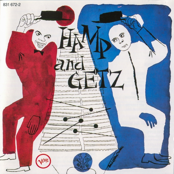 Stan Getz & Lionel Hampton Hamp and Getz Cover Art
