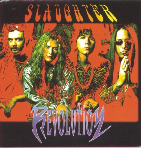 Slaughter Revolution Cover Art
