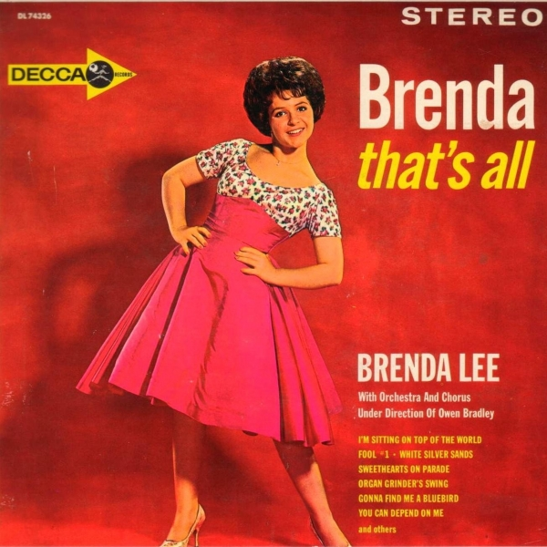 Brenda Lee Brenda, That's All (1972) cover art