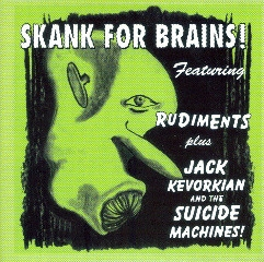 The Suicide Machines Skank for Brains cover art
