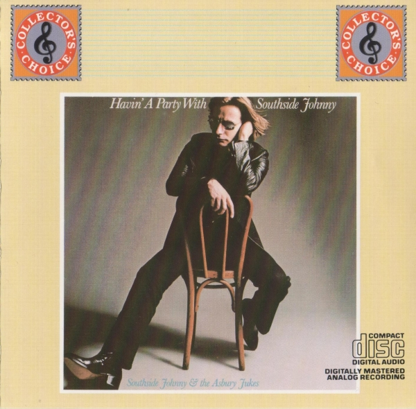 Southside Johnny & The Asbury Jukes Havin' a Party With Southside Johnny cover art