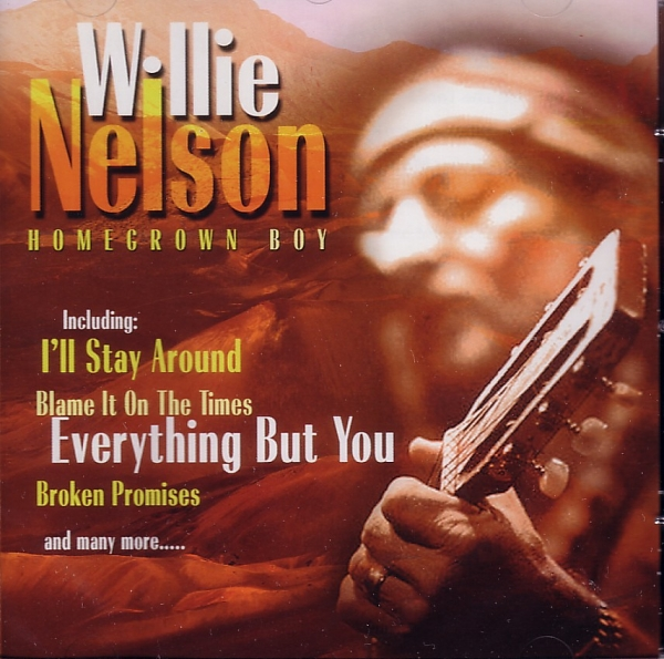 Willie Nelson Homegrown Boy cover art