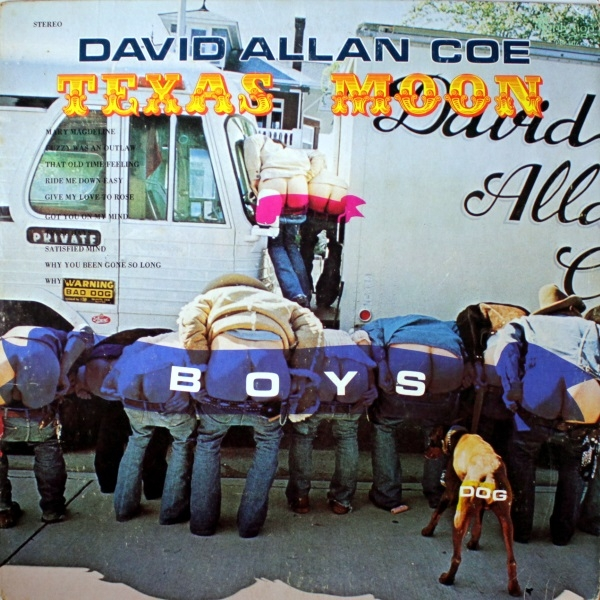 David Allan Coe Texas Moon cover art