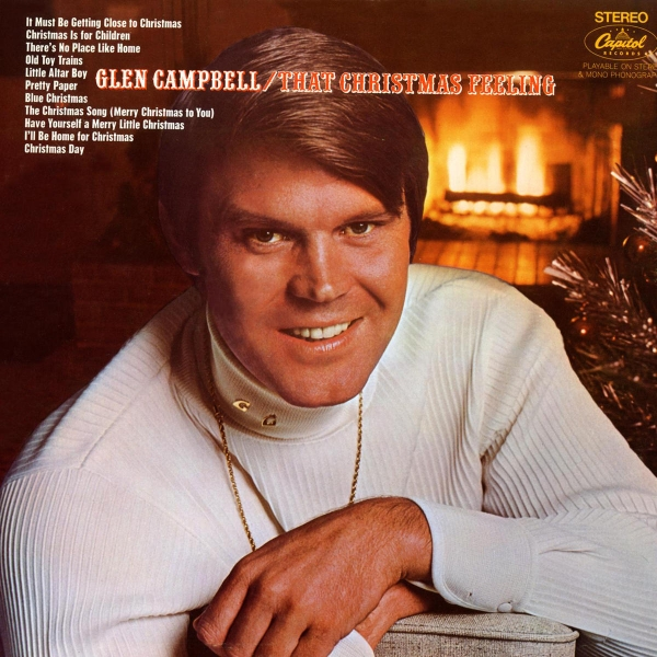 Glen Campbell That Christmas Feeling cover art