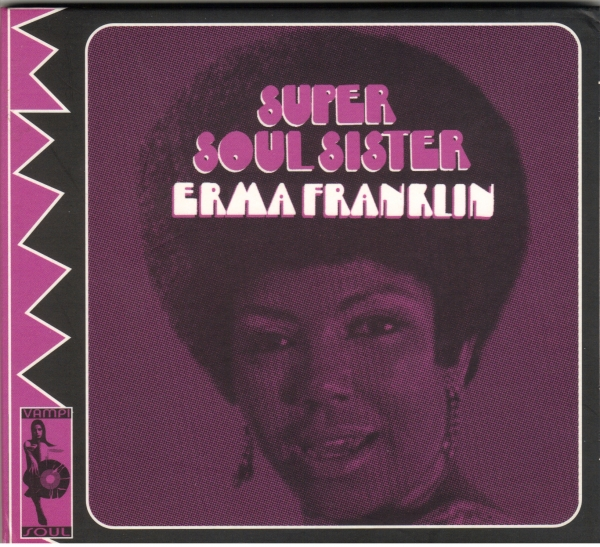 Erma Franklin Super Soul Sister Cover Art