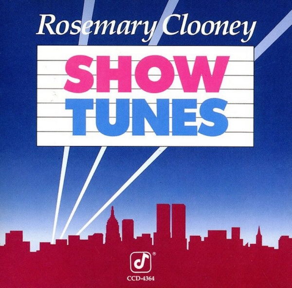 Rosemary Clooney Show Tunes Cover Art