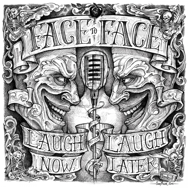face to face Laugh Now, Laugh Later cover art