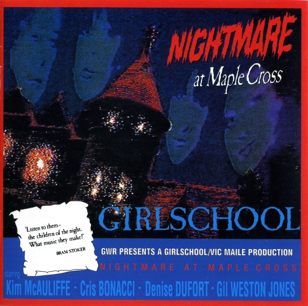 Girlschool Nightmare at Maple Cross cover art