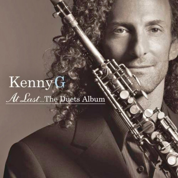 Kenny G At Last... The Duets Album Cover Art