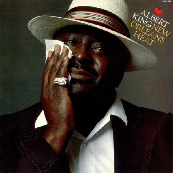 Albert King New Orleans Heat Cover Art