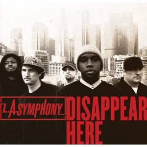 L.A. Symphony Disappear Here cover art