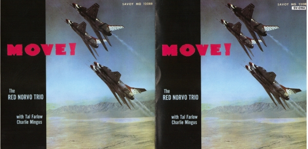 The Red Norvo Trio Move! Cover Art