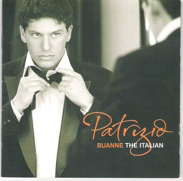 Patrizio Buanne The Italian cover art