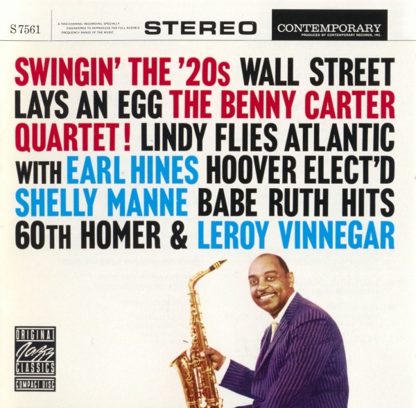 Benny Carter Swingin' the '20s cover art