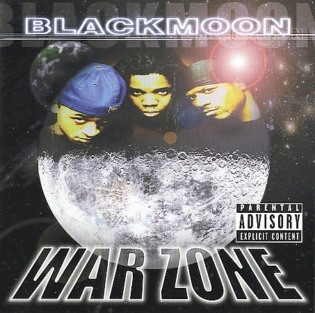 Black Moon War Zone cover art