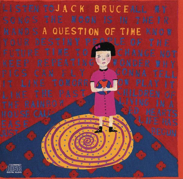 Jack Bruce A Question of Time cover art