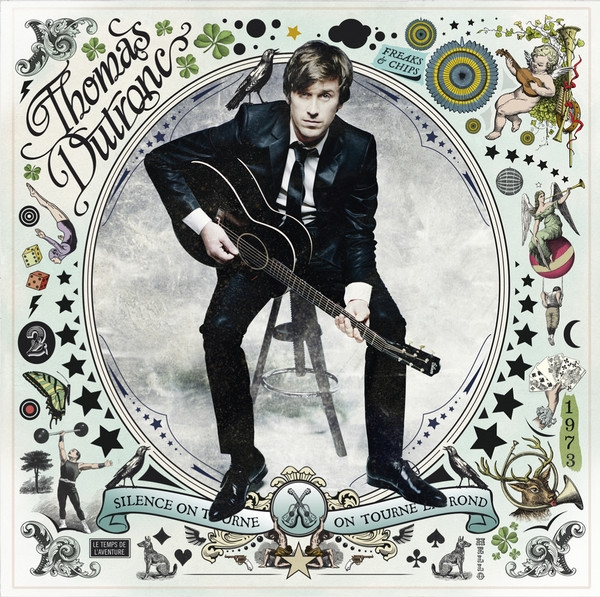Thomas Dutronc Silence on tourne, on tourne en rond cover art