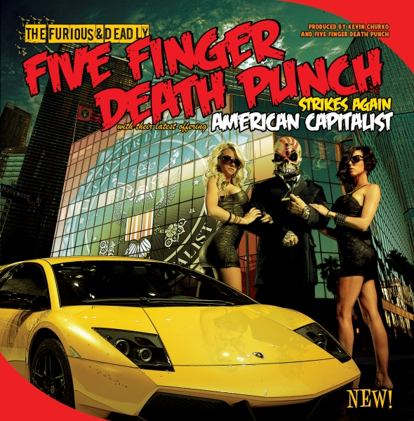 Five Finger Death Punch American Capitalist Cover Art