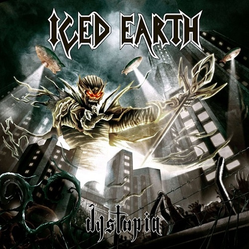 Iced Earth Dystopia Cover Art