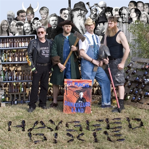 Hayseed Dixie Sjt. Munchs Drikkeklubb Band Cover Art