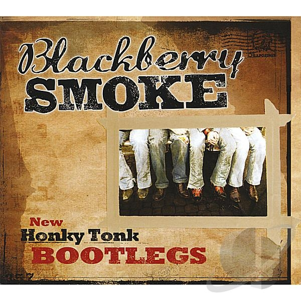 Blackberry Smoke New Honky Tonk Bootlegs cover art