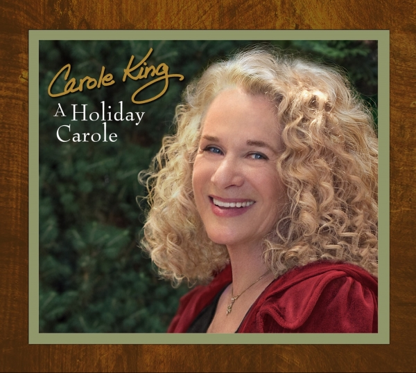 Carole King A Holiday Carole cover art