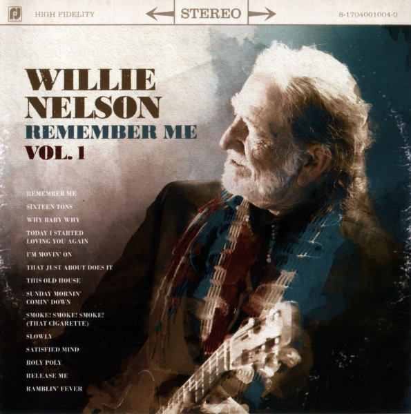 Willie Nelson Remember Me, Volume 1 cover art