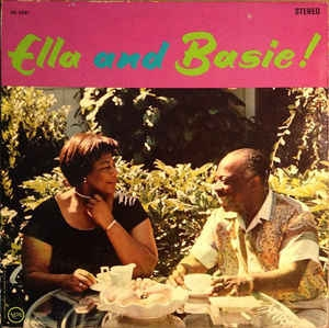 The Count Basie Orchestra Ella and Basie! cover art