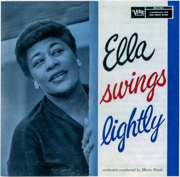 Ella Fitzgerald Ella Swings Lightly cover art