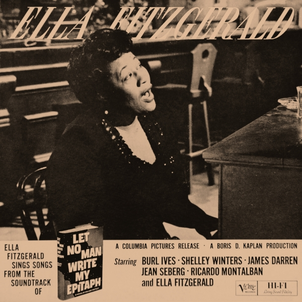 Ella Fitzgerald Let No Man Write My Epitaph cover art