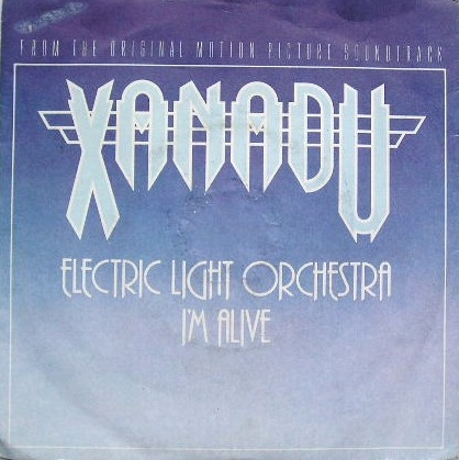 Electric Light Orchestra I'm Alive / Drum Dreams Cover Art