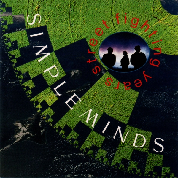 Simple Minds Street Fighting Years cover art